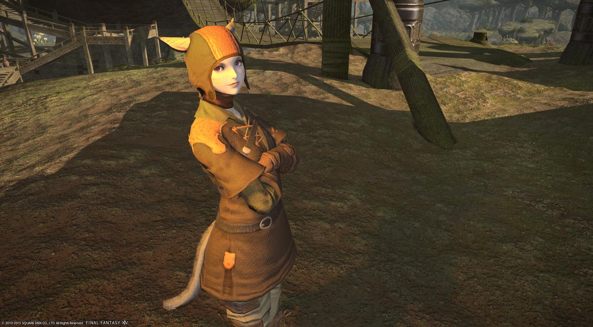ハ・ムネコ牙曹長 : 小官は、双蛇党黄蛇隊に属す者。 「グランドカンパニーリーヴ」を管轄しています。