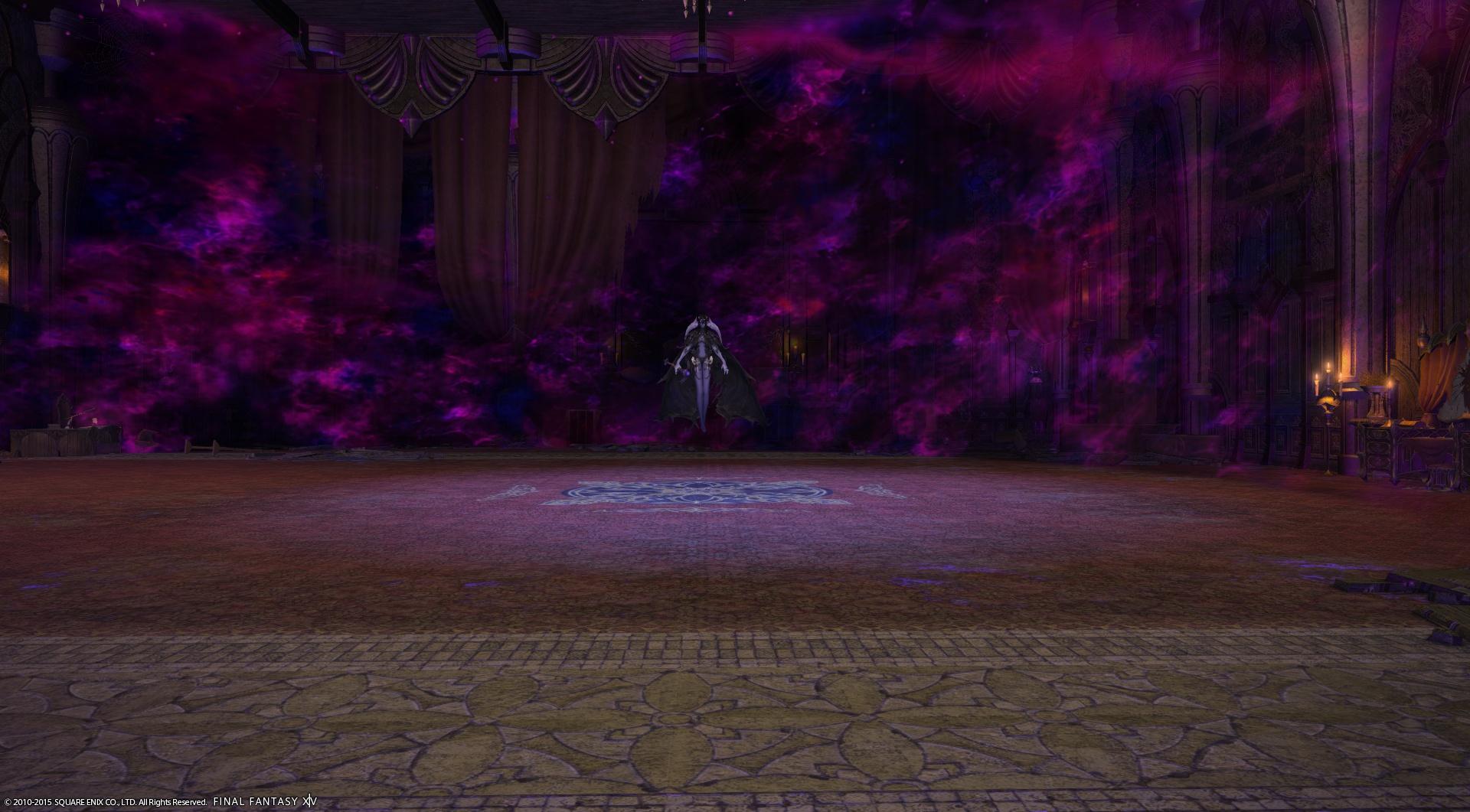 魔力立ち込める主の部屋