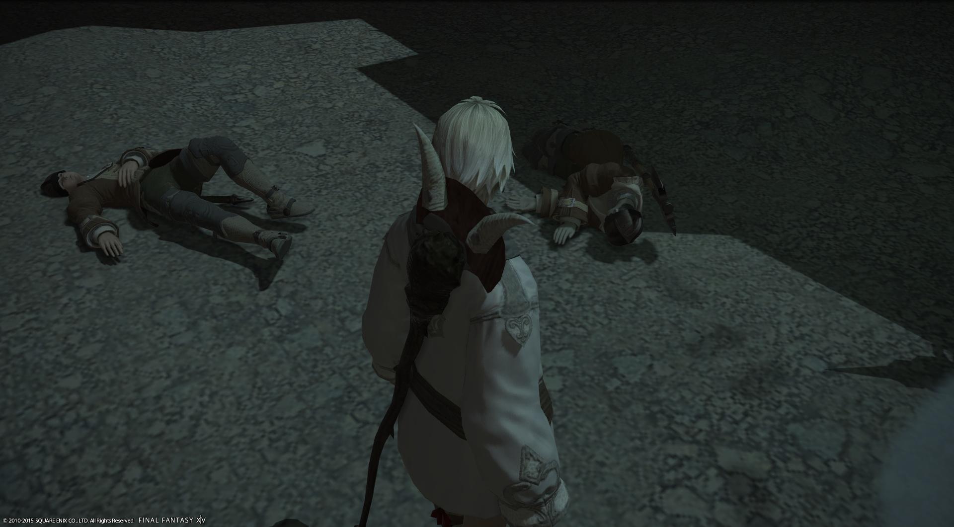 兵士の死体を回収